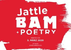 Jattle Bam + Poetry